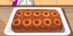 Ananaslı ters pasta yapma
