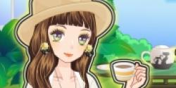 Bahçede Kahve