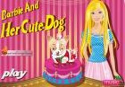Barbie köpek süsleme