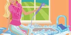 Barbie köpek yıkama