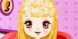 Barbie saç kestirme