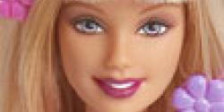 Barbie sihirli makyaj