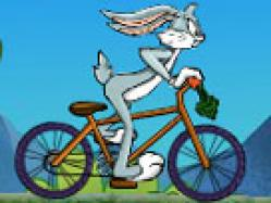 Bugs bunny bisiklet sürme