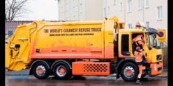 çöpçü kamyon Şoförü