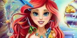 Deniz kızı saç kesimi