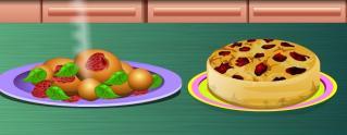 Donut ve erik pastası