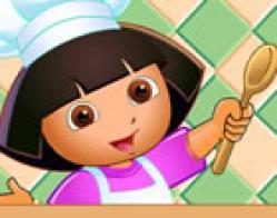 Dora Pizza Yapıyor