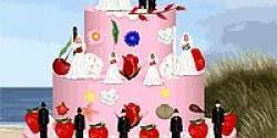 Düğün günü pastası