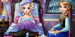 Elsa frozen doktorda