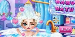 Elsa 'nın Banyo Keyfi