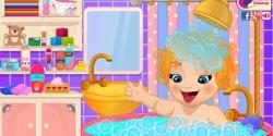 Emma bebeğin banyosu