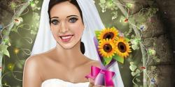 Gelin düğün hazırlığı