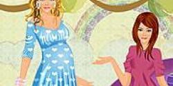 Hamile kadın giydir