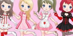 Hemşire kızlar