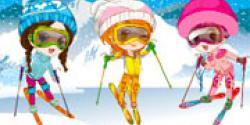 Kayakçı kızlar