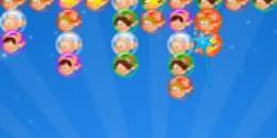 Kız balon patlatmaca