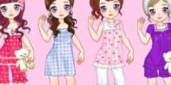 Pijamalı kızlar
