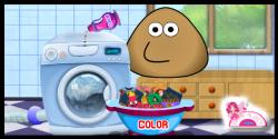 Pou ile çamaşır yıkayın