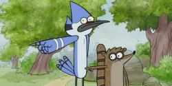 Regular show paintball