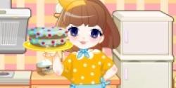Renkli Bonbon Kek