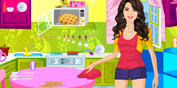 Selena gomez parti temizliği