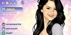 Selena makyaj yapma