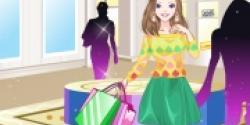Sevimli Alışveriş Kızı