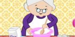 Teyze mutfakta